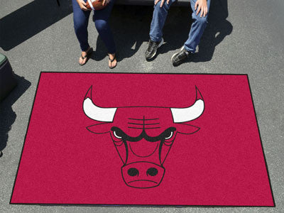 NBA Officially licensed products Chicago Bulls Ulti-Mat 5'x8' Start showing off your team pride with an Ulti-Mat from Sports