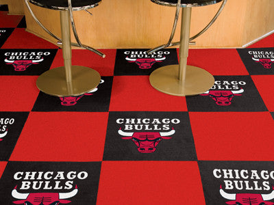 "NBA Officially licensed products Chicago Bulls 18""x18"" Carpet Tiles Want to show off your team pride in a big way? Carpet Ti"