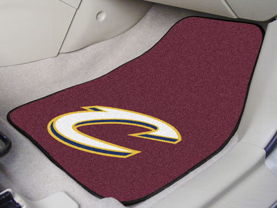 "NBA Officially licensed products Cleveland Cavaliers 2-pc Carpeted Car Mats 17""x27"" Show your fandom even while driving with"