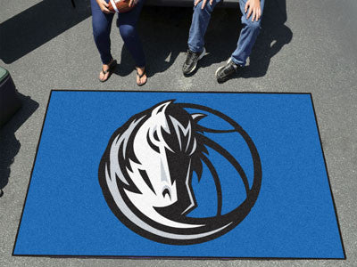 NBA Officially licensed products Dallas Mavericks Ulti-Mat 5'x8' Start showing off your team pride with an Ulti-Mat from Spo