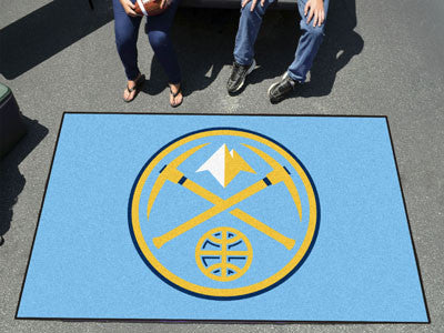 NBA Officially licensed products Denver Nuggets Ulti-Mat 5'x8' Start showing off your team pride with an Ulti-Mat from Sport