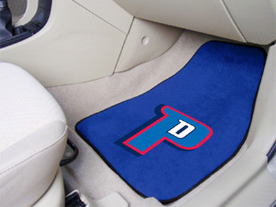 "NBA Officially licensed products Detroit Pistons 2-pc Carpeted Car Mats 17""x27"" Show your fandom even while driving with Car"