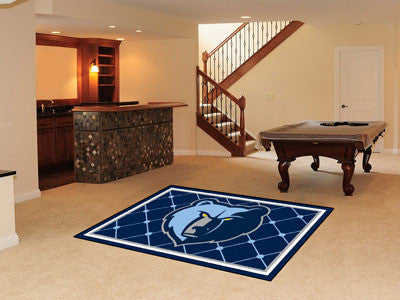 NBA Officially licensed products Memphis Grizzlies 5'x8' Rug Show off your team pride in a big way! 5'x8' ultra plush area r
