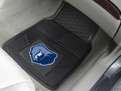 "NBA Officially licensed products Memphis Grizzlies 2-pc Vinyl Car Mats 17""x27"" Add style to your ride with heavy duty Vinyl"