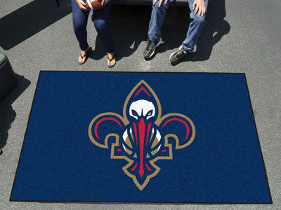 NBA Officially licensed products New Orleans Pelicans Ulti-Mat 5'x8' Start showing off your team pride with an Ulti-Mat from