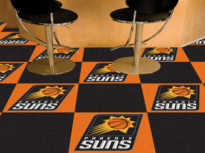 "NBA Officially licensed products Phoenix Suns 18""x18"" Carpet Tiles Want to show off your team pride in a big way? Carpet Til"