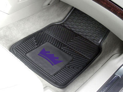 "NBA Officially licensed products Sacramento Kings 2-pc Vinyl Car Mats 17""x27"" Add style to your ride with heavy duty Vinyl C"