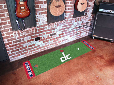 "NBA Officially licensed products Washington Wizards Putting Green Runner 18""x72"" Become a pro and perfect your short game wi"
