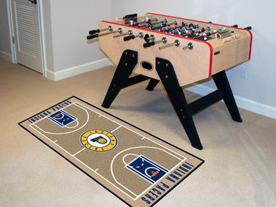 NBA Officially licensed products Indiana Pacers NBA Court Runner 24x44 Support your favorite NBA team with these basketball