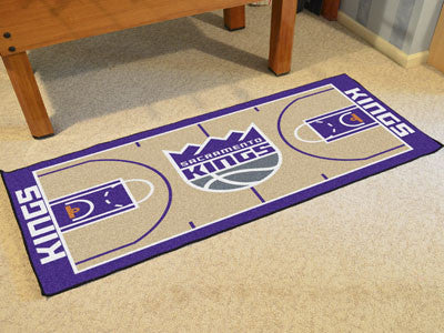 NBA Officially licensed products Sacramento Kings NBA Court Runner 24x44 Support your favorite NBA team with these basketbal