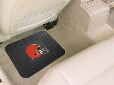 "NFL Officially licensed products Cleveland Browns Utility Mat 14""x17"" Boast your team colors with backseat Utility Mats by S"