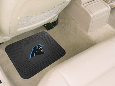 "NFL Officially licensed products Carolina Panthers Utility Mat 14""x17"" Boast your team colors with backseat Utility Mats by"