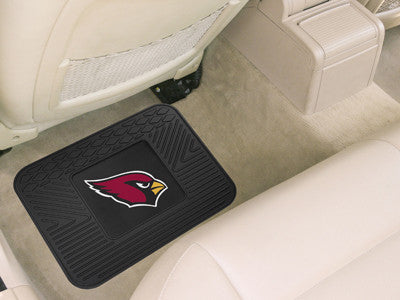 "NFL Officially licensed products Arizona Cardinals Utility Mat 14""x17"" Boast your team colors with backseat Utility Mats by"
