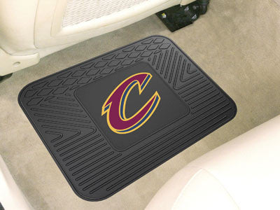 "NBA Officially licensed products Cleveland Cavaliers Utility Mat 14""x17"" Boast your team colors with backseat Utility Mats b"