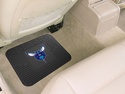 "NBA Officially licensed products Charlotte Hornets Utility Mat 14""x17"" Boast your team colors with backseat Utility Mats by"