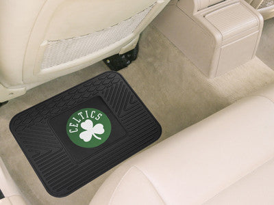 "NBA Officially licensed products Boston Celtics Utility Mat 14""x17"" Boast your team colors with backseat Utility Mats by Spo"