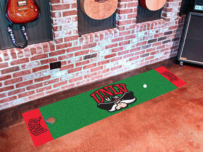 "NCAA Officially licensed University of Nevada, Las Vegas (UNLV) Putting Green Mat 18""x72"" Become a pro and perfect your shor"