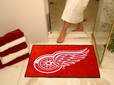 "NHL Officially licensed products Detroit Red Wings All-Star Mat 33.75""x42.5"" Join the All-Star team and decorate your home o"