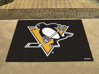 "NHL Officially licensed products Pittsburgh Penguins All-Star Mat 33.75""x42.5"" Join the All-Star team and decorate your home"