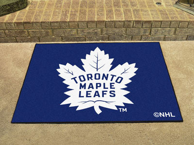 "NHL Officially licensed products Toronto Maple Leafs All-Star Mat 33.75""x42.5"" Join the All-Star team and decorate your home"