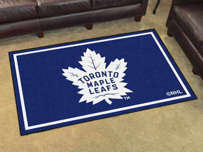 NHL Officially licensed products Toronto Maple Leafs 4'x6' Rug Show off your team pride in a big way! 4'x6' ultra plush area