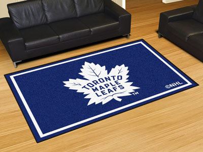 NHL Officially licensed products Toronto Maple Leafs 5'x8' Rug Show off your team pride in a big way! 5'x8' ultra plush area