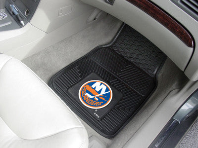 "NHL Officially licensed products New York Islanders  2-pc Vinyl Car Mats 17""x27"" Add style to your ride with heavy duty Viny"