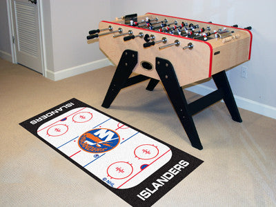 "NHL Officially licensed products New York Islanders Rink Runner 30""x72"" The ice might be cool but these hockey Rink Runners"