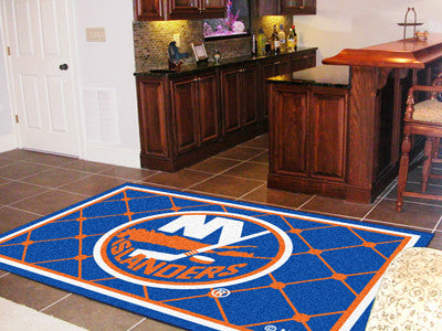 NHL Officially licensed products New York Islanders 5'x8' Rug Show off your team pride in a big way! 5'x8' ultra plush area