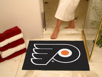 "NHL Officially licensed products Philadelphia Flyers All-Star Mat 33.75""x42.5"" Join the All-Star team and decorate your home"