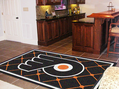 NHL Officially licensed products Philadelphia Flyers 5'x8' Rug Show off your team pride in a big way! 5'x8' ultra plush area