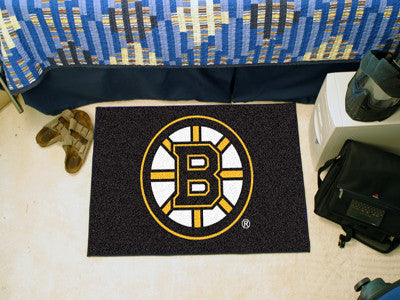 NHL Officially licensed products Boston Bruins Starter Mat Start showing off your team pride at home and the office with a S
