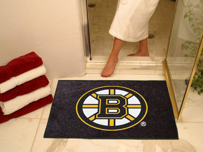 "NHL Officially licensed products Boston Bruins All-Star Mat 33.75""x42.5"" Join the All-Star team and decorate your home or of"