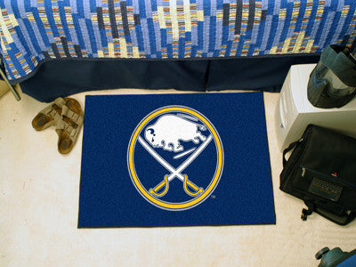 NHL Officially licensed products Buffalo Sabres Starter Mat Start showing off your team pride at home and the office with a