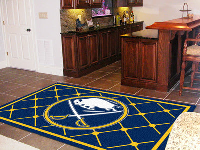 NHL Officially licensed products Buffalo Sabres 5'x8' Rug Show off your team pride in a big way! 5'x8' ultra plush area rugs