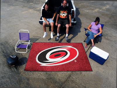 NHL Officially licensed products Carolina Hurricanes Ulti-Mat 5'x8' Start showing off your team pride with an Ulti-Mat from