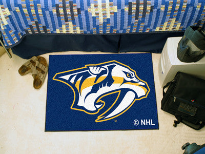 NHL Officially licensed products Nashville Predators Starter Mat Start showing off your team pride at home and the office wi