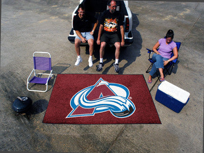 NHL Officially licensed products Colorado Avalanche Ulti-Mat 5'x8' Start showing off your team pride with an Ulti-Mat from S