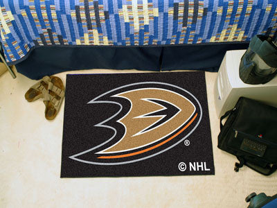 NHL Officially licensed products Anaheim Ducks Starter Mat Start showing off your team pride at home and the office with a S