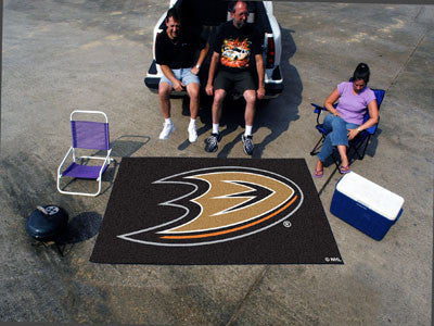 NHL Officially licensed products Anaheim Ducks Ulti-Mat 5'x8' Start showing off your team pride with an Ulti-Mat from Sports