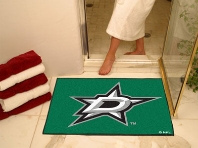 "NHL Officially licensed products Dallas Stars All-Star Mat 33.75""x42.5"" Join the All-Star team and decorate your home or off"