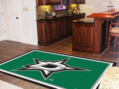 NHL Officially licensed products Dallas Stars 5'x8' Rug Show off your team pride in a big way! 5'x8' ultra plush area rugs w