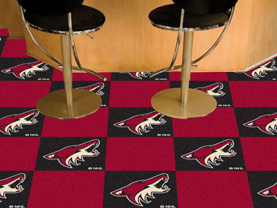 "NHL Officially licensed products Arizona Coyotes 18""x18"" Carpet Tiles Want to show off your team pride in a big way? Carpet"