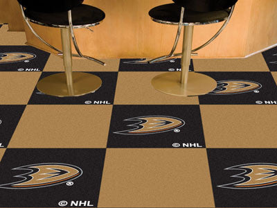 "NHL Officially licensed products Anaheim Ducks 18""x18"" Carpet Tiles Want to show off your team pride in a big way? Carpet Ti"