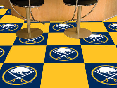"NHL Officially licensed products Buffalo Sabres 18""x18"" Carpet Tiles Want to show off your team pride in a big way? Carpet T"