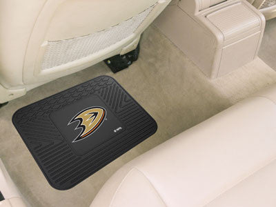 "NHL Officially licensed products Anaheim Ducks Utility Mat 14""x17"" Boast your team colors with backseat Utility Mats by Spor"