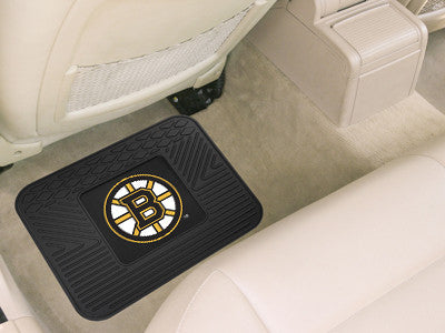 "NHL Officially licensed products Boston Bruins Utility Mat 14""x17"" Boast your team colors with backseat Utility Mats by Spor"