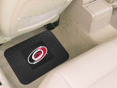 "NHL Officially licensed products Carolina Hurricanes Utility Mat 14""x17"" Boast your team colors with backseat Utility Mats b"