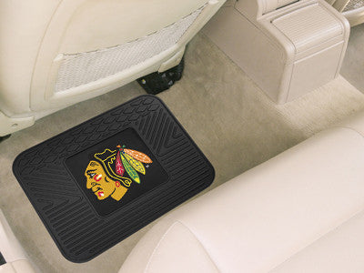 "NHL Officially licensed products Chicago Blackhawks Utility Mat 14""x17"" Boast your team colors with backseat Utility Mats by"