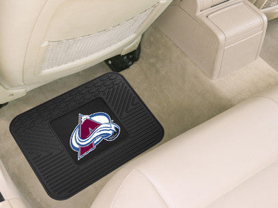 "NHL Officially licensed products Colorado Avalanche Utility Mat 14""x17"" Boast your team colors with backseat Utility Mats by"